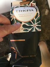 NEW Lot of 5 bags STARBUCKS RESERVE Ethiopia  COFFEE WHOLE BEAN 8.8 oz July 2021
