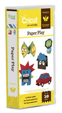 CRICUT *PAPER PLAY* ART PROJECTS CARTRIDGE *PUPPETS, DOLLS, COOTIE CATCHER* NEW