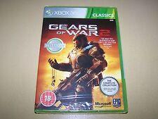 Gears OF WAR 2, Xbox 360 (EDIZIONE COMPLETA CLASSICS) ** NUOVO E SIGILLATO **