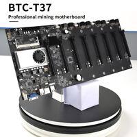 BTC37 Mining Hauptplatine SATA 3.0 8 GPU PCI-E 16X mit DDR3-Speichersteckplätzen