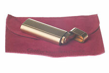 CARTIER FEUERZEUG GOLD-FINISH BRIQUET ACCENDINO ENCENDEDOR GAS LIGHTER RARE