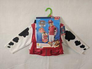Paw Patrol Marshall Boys Halloween Costume Small (4-6) Rubies