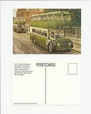 Bus Postcard Blackburn Corporation Guy Arab Darwen Art Postcard by G S Cooper