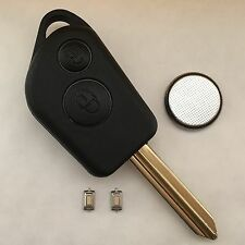 Citroen Saxo Xsara Picasso Berlingo 2 Button Remote Key Fob Full Repair Kit