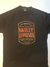 Harley Davidson 110th Anniversary T-Shirt Kingston Ontario Canada Medium