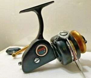 """Vintage 1980's Penn No.712Z """"Spinfisher"""" Spinning Reel Original As Found+Clean!"""