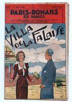 PARIS-ROMANS EN IMAGES n°4. La villa de la falaise; 1950. NIEZAB