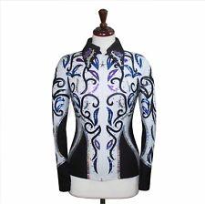 SMALL  Showmanship Pleasure Horsemanship Jacket Shirt Rodeo Queen Rail Outfit