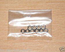 Tamiya 9808244/19808244 3mm Thin Nut (10 Pcs.) (Truck/DT02/Egress/CW01), NIP