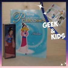 Figurine Disney - Poupée en porcelaine édition Atlas + Fascicule - Mulan robe de