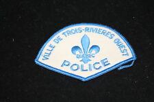 Canadian Ville De Trois Rivieres Ouest Police Patch