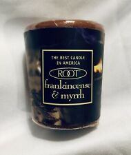 Christmas/Holiday VOTIVE CANDLES-FRANKINCENSE & MYRRH- ROOT 20HR. Made In USA.