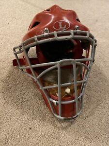 """Louisville Slugger TPX Catcher's Helmet RED  XCH 7 1/8"""" - 7 1/2"""""""