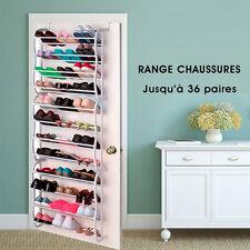 Organisateur Range Chaussures 36 Shoes Rack Paires Étagère Porte Armoire Neuf