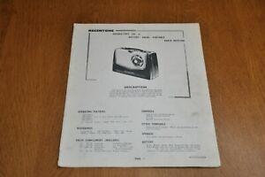 Regentone Double 2 MK II Portable Transistor Radio Workshop Service Manual