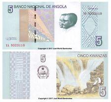 Angola 5 KWANZAS 2012 (2017) P-NUOVE BANCONOTE UNC