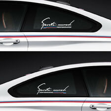 Universal Car Styling Sticker Reflective Car Side Window Stickers Decal For Bmw