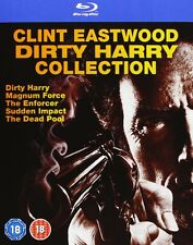 CLINT EASTWOOD DIRTY HARRY - (NEW BLU RAY COLLECTION)