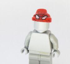 Custom Spiderman Hat Hood Marvel Super heroes minifigures lego bricks