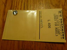 """M.V. Products #406 Headlight Lens Set -- 11/32"""" Clear"""