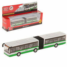 Articulated Bus Moscow Russia Inertial Model Toy by Tehnopark