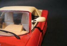 Mirror Ferrari Testarossa 1/18 Hot wheels Mattel Burago Bburago
