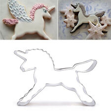 Unicorn Horse Fondant Cake Cookies Cutter Mold Stainless Steel Decorating Tool