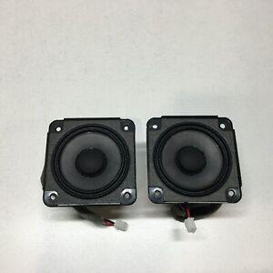 SET of 2  BOSE Wave AWRCC & AWRCC1 Sounddock Series I II Speakers OEM 273488-001