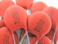 10pcs .01uf 10nf (103) @ 1000V 1KV (CERA-MITE) ceramic disc capacitor ref # 85a