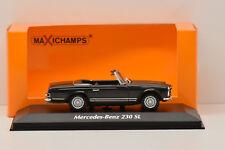 MERCEDES BENZ 230 SL 1965 GREY  MAXICHAMPS 1/43 NEUF EN BOITE