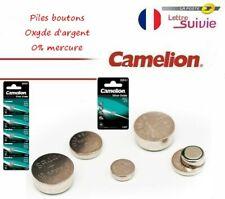 Camelion pile bouton ronde OXYDE D'ARGENT 1.55V SR 0%mercure montre AU CHOIX