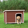 Heritage Deluxe Wooden Dog Kennel House Home Timber Garden Kennels Shelter Home