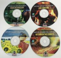 Nature Sounds 4 CD's 4 Hours Stress Meditation Relaxation Deep Sleep White Noise