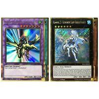 Yugioh Karten Sammlung - 20 Karten - 10 Gold Rare + 10 Gold Secret Rare