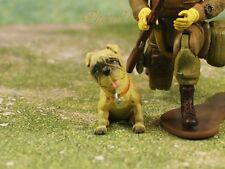 Hood Hounds Barney Tan Pug Dog 1:18 GI Joe Size Cake Topper Figure K1285 A5
