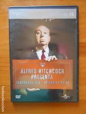 DVD ALFRED HITCHCOCK PRESENTA - TEMPORADA DOS - EPISODIOS 57-60 - CAJA SLIM (G6)