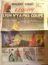 L'Equipe Journal 19/1/2003; Peterhansel perd le Dakar dans le Sinaï/ Rigaudeau