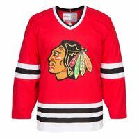 Chicago Blackhawks NHL CCM Men's Red Alumni Throwback Premier Home Jersey