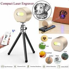 16w Portable Laser Engraving Cutter Machine Diy Printer Engraver Desktop Home