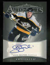 2005-06 UPPER DECK ARTIFACTS AUTO-FACTS SILVER STEVE SULLIVAN AUTO 27/50