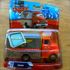 "Disney PIXAR Cars MILES ""MEAT TRUCK"" MALONE FN SERVICE & SHIPPING #24 DELUXE"