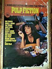 PULP FICTION - CLASSIC MOVIE POSTER 24x36 - TARANTINO THURMAN