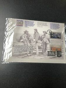 US 4787-88 CIVIL WAR 1863 Souvenir Page First Day Of Issue 12 Stamps 2013