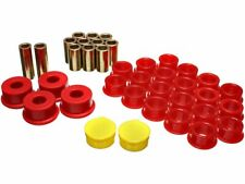 Energy Suspension 7.3113R Control Arms Energy Suspension Rear Control Arm Bushing Sets Control Arm Bushing; Rear End Control Arm Bushing Set; Red