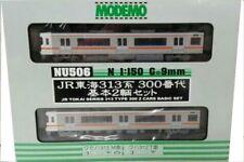 Modemo NU506 JR Tokai 313 Series 300 (2 Car Set) NEW Kato N Gauge