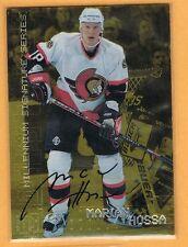 1999-00 BAP Gold Marian Hossa Autograph #170 Ottawa Senators