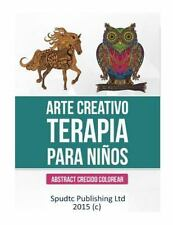 Arte Creativo Terapia para Niños : Abstract Crecido Colorear by Spudtc...