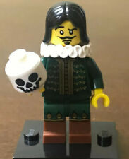 Lego Minifigure Thespian / Actor, Series 8 Rare 2012 Collectible Minifig