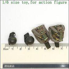 X A31-20 1/6 scale DAMTOYS 78033 BRITISH ARMY GRENADE & POUCH *2