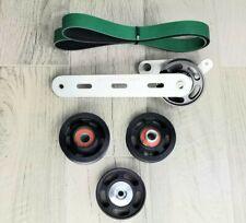 2003 2008 E55 M113k Amg Belt Wrap Green Hd Kit Amp 3 Pc Blk Idler Kit Bundle
